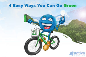 4 Easy Ways You Can Go Green