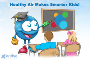 Healthy Air Makes Smarter Kids!