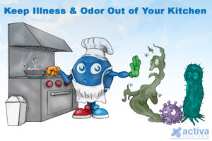 Keep Illness & Odor Out of Your Kitchen