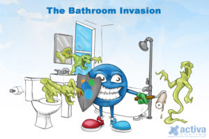 The Bathroom Invasion