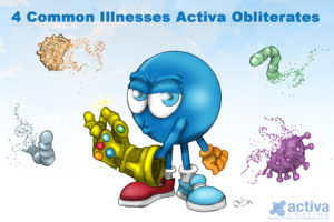 4 Common Illnesses Activa Obliterates